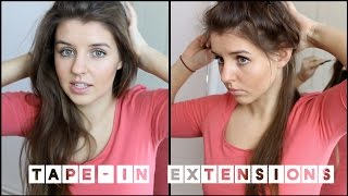 Tape Extensions - Selbstversuch | Frisuren Freitag (PP)