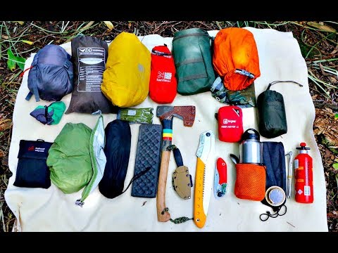 My Bushcraft / Wild Camping Kit