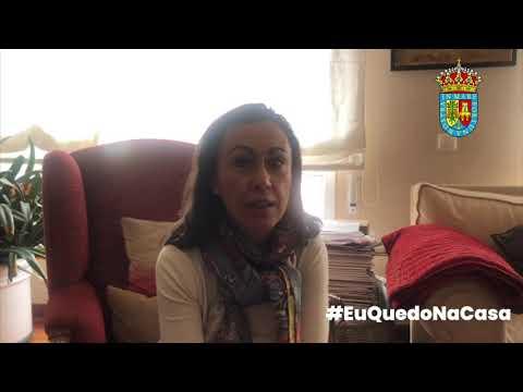 A alcaldesa de Marín lanza unha mensaxe de ánimo econcienciación á cidadanía marinense