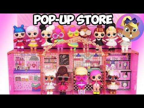 lol Surprise Pop-up Store 3 u 1  Izložiti igrati se & poneti + ekskluzivna lutka