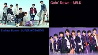 Goin' Down・Endless Dance 同時再生【歌詞付き】