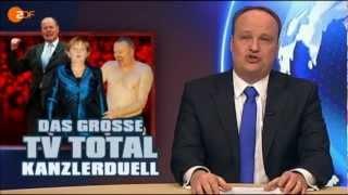 Stefan Raab Moderator des Kanzlerduell? - Die Heute Show - Kaspeerletheater