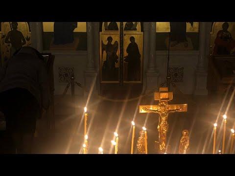 Подготовка к причастию 莫斯科寺廟