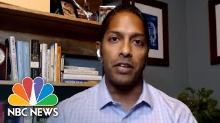 U.S. Covid Hospitalizations Over 100,000, Reaching All-Time High | NBC News NOW