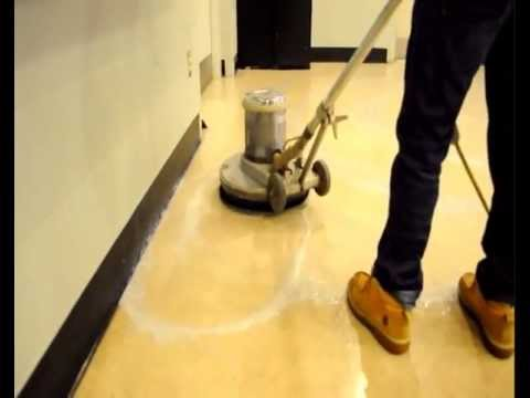How To Strip Refinish Vinyl Tile Floors Youtube