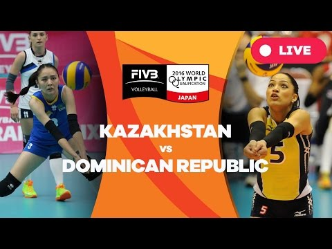 Kazakhstan v Dominican Republic - 2016 Women's World Olympic Qualification Tournament