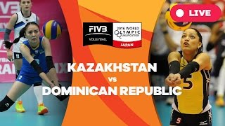Kazakhstan v Dominican Republic - 2016 Women's World Olympic Qualification Tournament