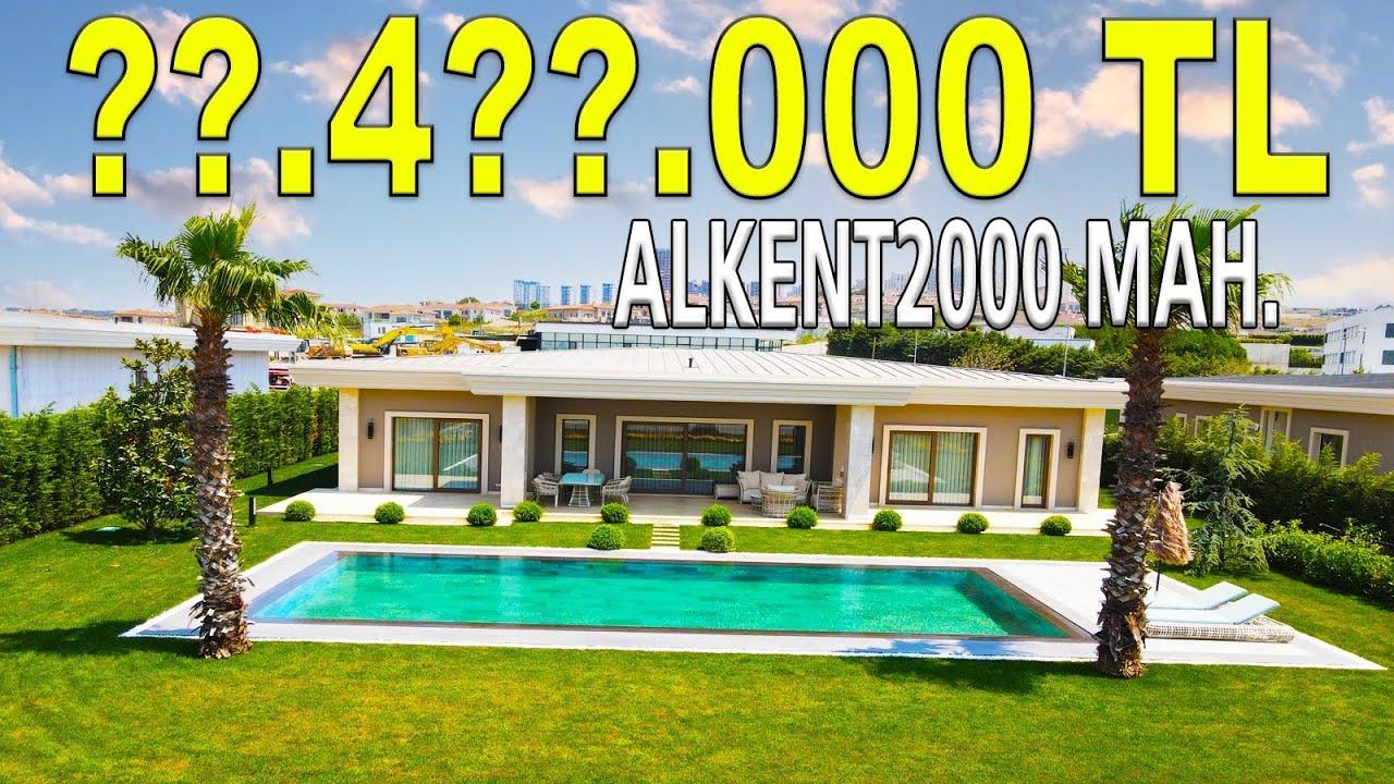 Bayram Özel   GÖL İSTANBUL 'da Bembeyaz Bir Villa Turu    Youtube Premium Hediyeli