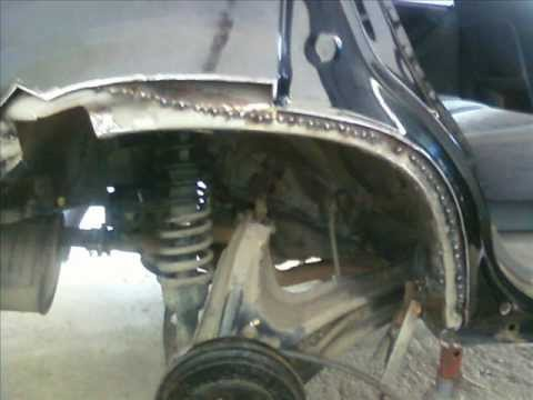 honda cr  rust repair youtube