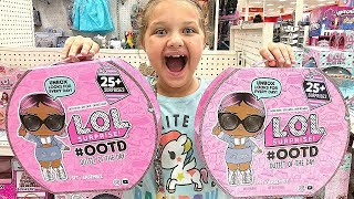 Toy Shopping At Target For Lol Dolls- Lol Surprise Ootd Opening