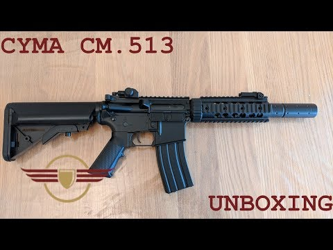 [UNBOXING] CYMA CM.513 M4 CQB Unboxing - Amazing Budget Starter