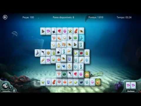 Windows 8 Jogos gratuitos- Quebra Cabeça Submarino..Mahjong