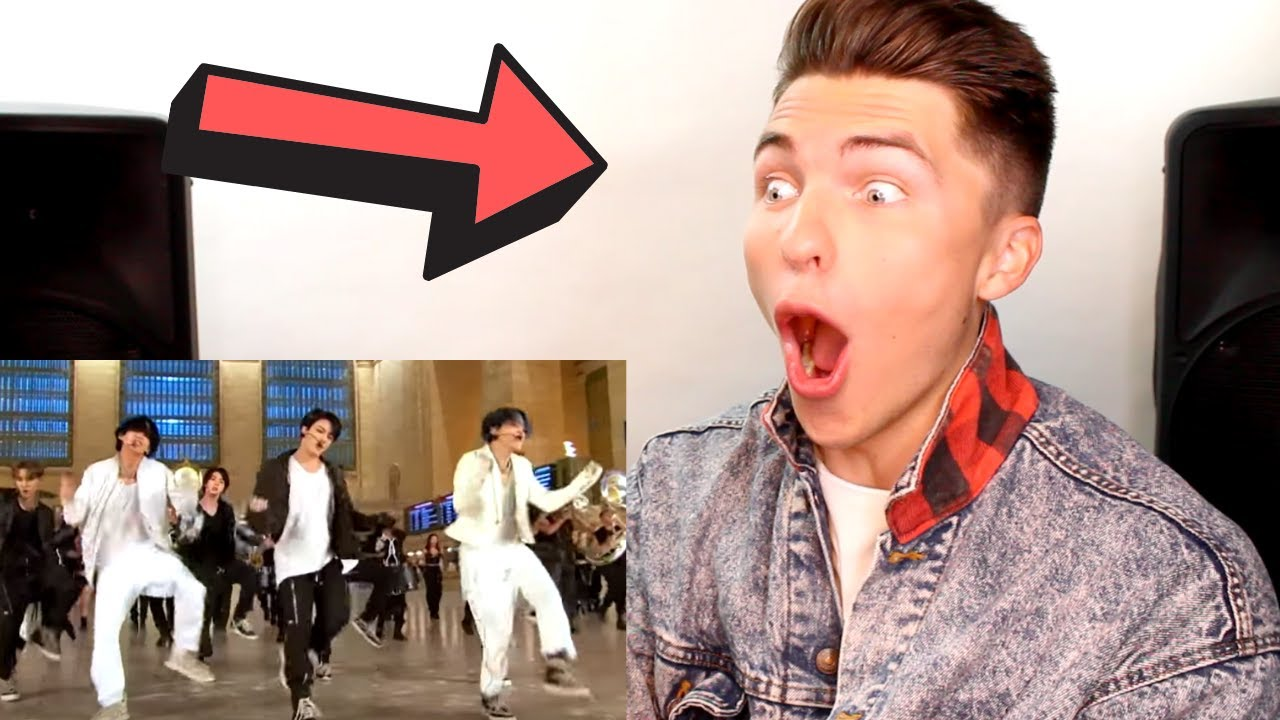"""Download VOCAL COACH Reacts to BTS Performing """"ON"""" at Grand Central Terminal for The Tonight Show"""