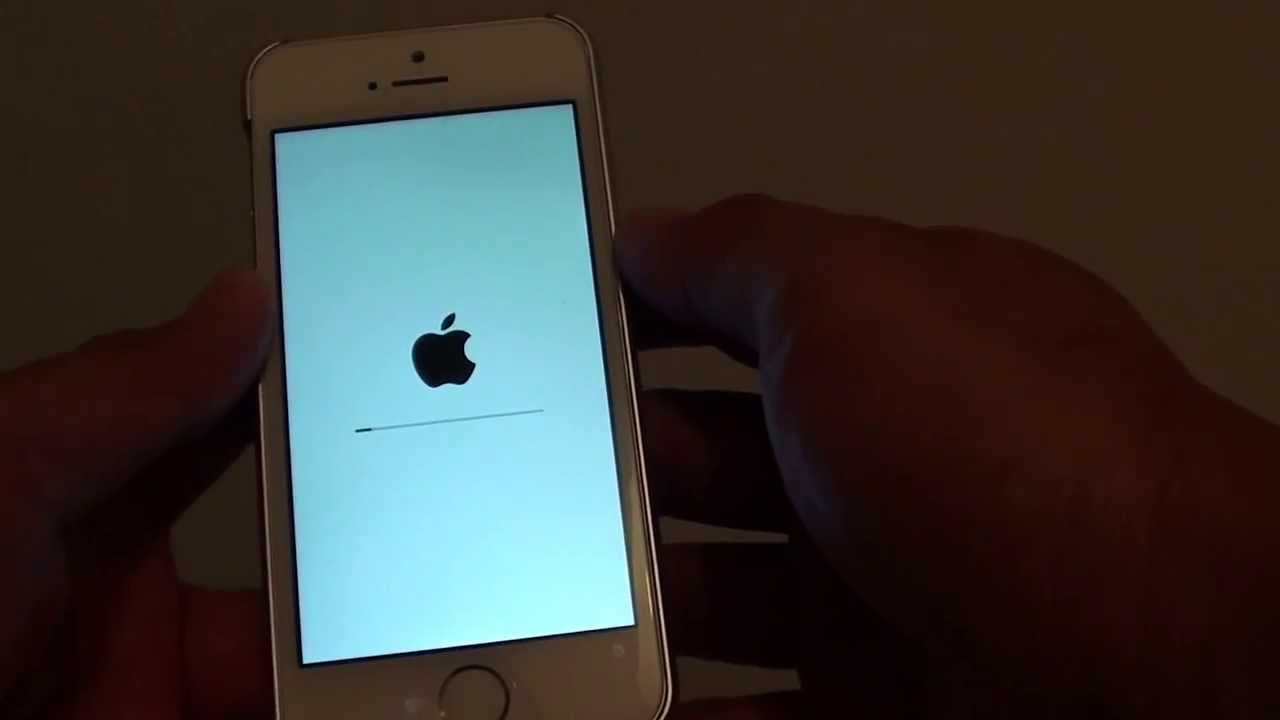 how to factory reset iphone 5s iphone 5s how to reset and erase all content 3517