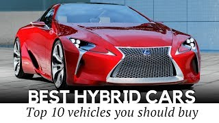 10 Hybrid Cars with Best Gas Mileage (Fuel Economy and Specifications Reviewed)