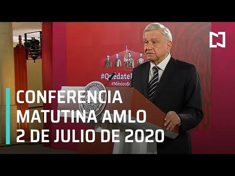 Conferencia matutina AMLO / 2 de julio de 2020
