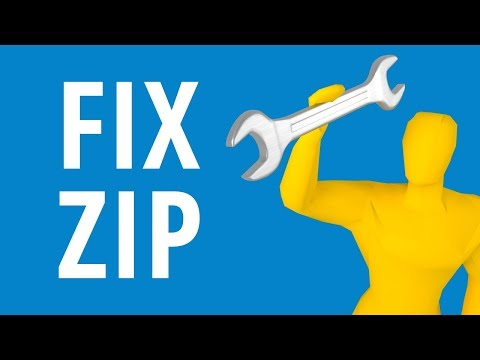 How To Repair A ZIP File For Free!