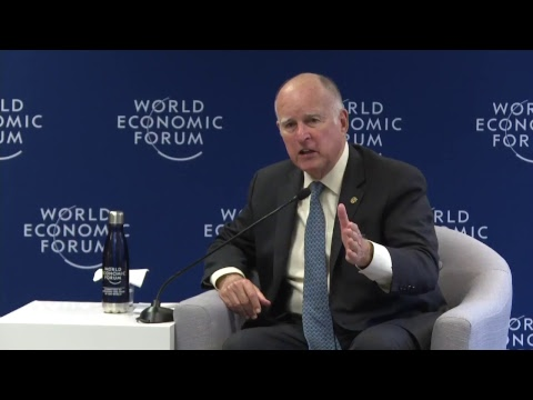 California Gov. Jerry Brown's Thoughts On Climate Change