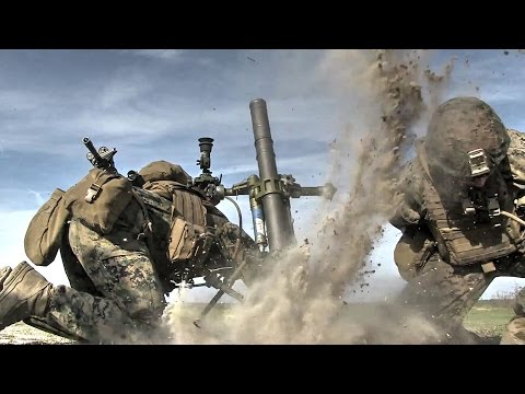 U.S. Marines Warfare – Buddy Rush & Mortar Fire
