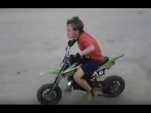 7d173b01c87 Mini moto cross 49cc barzi motors - YouTube