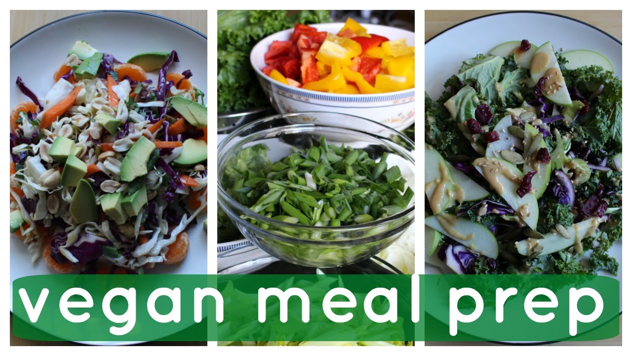 Vegan Meal Prep Healthy Easy Cheap Youtube