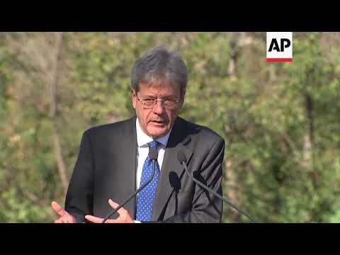 Gentiloni comments on Catalonia and Brexit