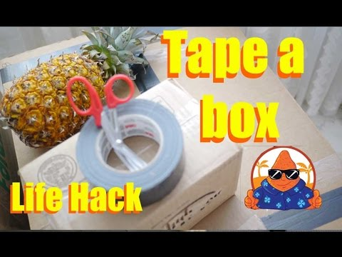 filipino balikbayan box taping lifehack how to tape moving boxes philippines nacho tv youtube. Black Bedroom Furniture Sets. Home Design Ideas