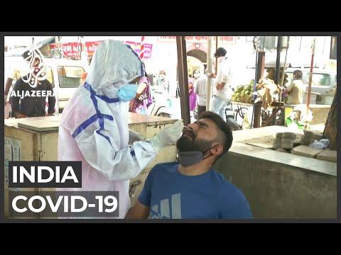India struggles to contain COVID-19 crisis