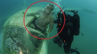 10 Bizarre Things Found Underwater Nobody Can Explain