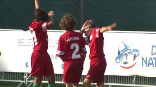 Portugal vs England - Ranking match 17/24 - Highlight - Danone Nations Cup 2016