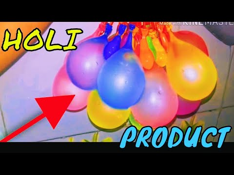 Holi product | unboxing | Magic balloon | Rohan all4u