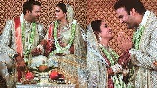 Newly Wed Couple Isha Ambani And Anand Piramal Look So Happy Together