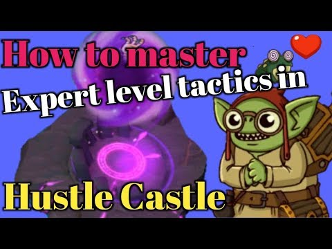 Hustle Castle Top 5 Expert Level Tactics To Master | Book 3 - Chp 22 |