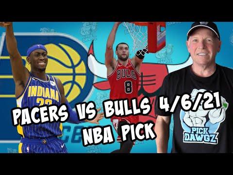 Indiana Pacers vs Chicago Bulls 4/6/21 Free NBA Pick and Prediction NBA Betting Tips