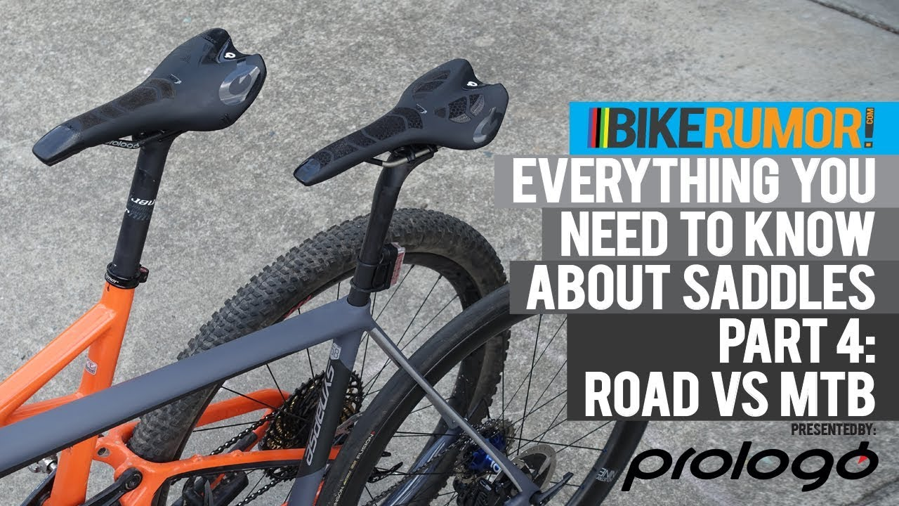 Everything you need to know about saddles - Part 4: Road vs