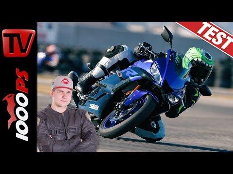 Funkenflug auf der Rennstrecke! Yamaha YZF-R3 und R3 Cup Test