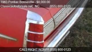 1963 Pontiac Bonneville  - for sale in , NC 27603 #VNclassics