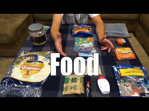 Beginner Backpacking Part 11 - Easy Food