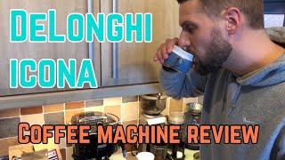 DeLonghi Icona ECOM311 Micalite coffee and espresso machine - review