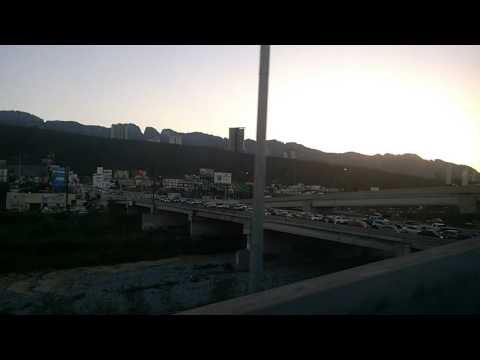 Monterrey Mexico, late afternoon traffic