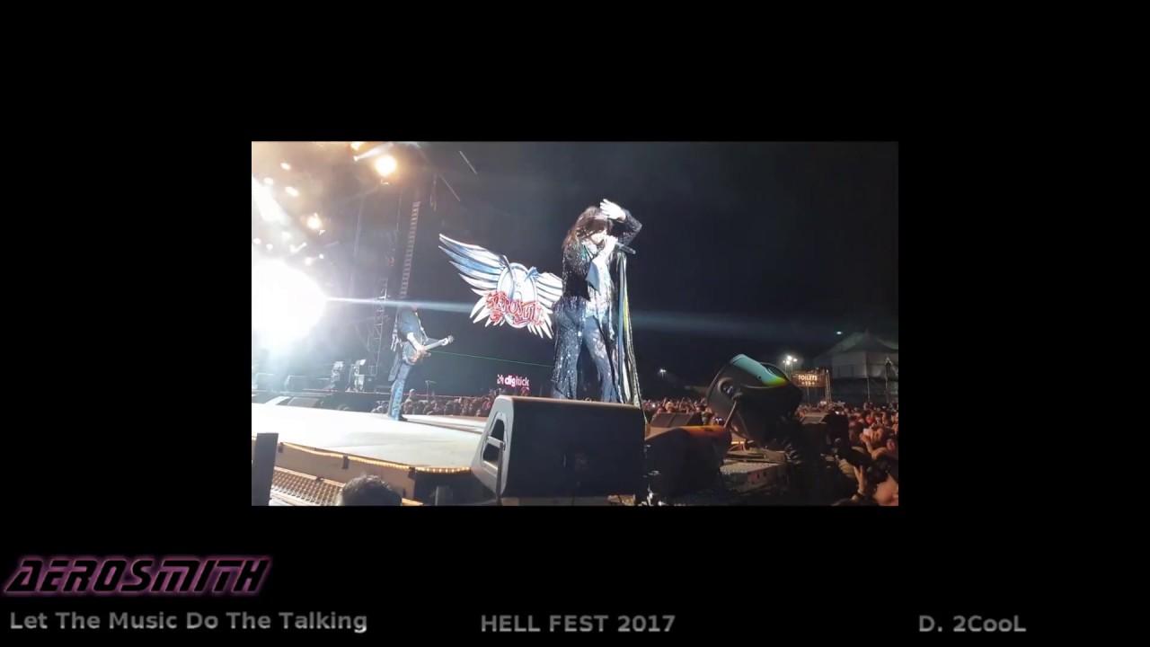 AEROSMITH LET THE MUSIC DO THE TALKING hellfest 2017 part1 ...