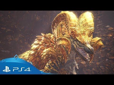 Monster Hunter: World | Kulve Taroth Trailer | PS4