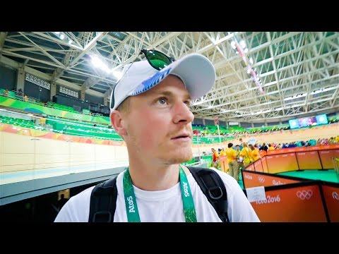 INSIDE THE OLYMPIC CYCLING!!