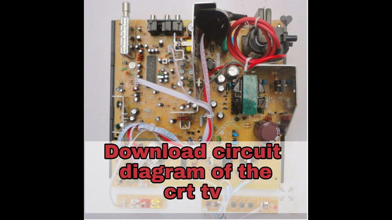Download Circuit Diagram Of Crt Colour Tv