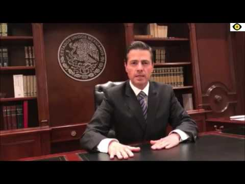 """President of Mexico Enrique Nieto: """"Mexico will not pay for the wall"""" - Subtitles English"""