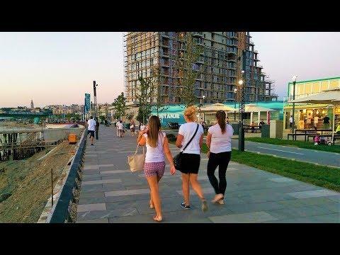 Belgrade Waterfront - Sava promenada (sept. 2017)