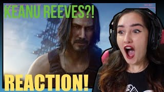 Cyberpunk 2077 Official E3 2019 Trailer (ft. Keanu Reeves) REACTION