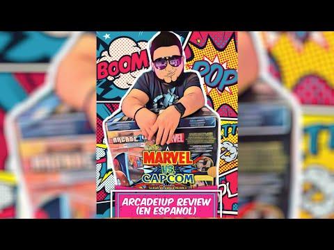 Marvel VS Capcom 🦸🏻♂️ Arcade De Arcade1up 🕹 Unboxing & Review Completamente En Español⁉️ from DJBlast Nyc