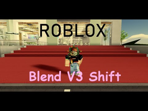 In Out Burger V3 Roblox Blend V3 Shift Roblox Shifts 1 Youtube