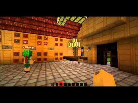Tour of republic city (Private minecraft server)